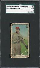 1909-11 E90-1 American Caramel   Bobby Wallace   HOF   Browns      SGC 10 !!