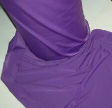 purple lycra fabric narrow width hi tech performance fabric 4 way stretch b t y