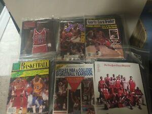 Beckett Magazine Michael Jordan lot, Bulls, 1990s, Basketball