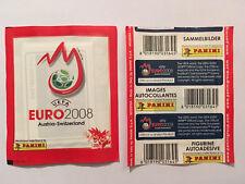 POCHETTE PANINI EURO 2008 AUTRICHE SUISSE VERTICALE PACKET TUTO TUTEN BUSTINA