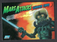 "Mars Attacks Archives ""Winner"" Autograph Card by Zina Saunders 1/2000 Topps 1994"