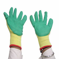 DIY Crafts®Work Industrial Cotton Hand Gloves 4Gloves Soft Drive Safe Knife Cuto