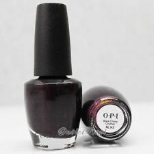 OPI Nail Lacquer Polish - NL I43 BLACK CHERRY CHUTNEY 15mL/ 0.5oz NLI43