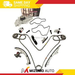 Timing Chain Kit Water Pump Fit 07-10 Ford Edge Taurus Lincoln Mkz 3.5 3.7L V6