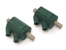 Dyna Dynatek Ignition Coil Green Dual Output 3 ohm Pair Honda Harley - DC1-1