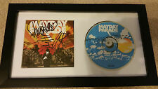 MAYDAY PARADE A Lesson in Romantics SIGNED AUTOGRAPHED FRAMED CD DISPLAY #A