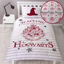 Official Harry Potter Letters Single Duvet Cover Set Reversible Kids Gift Xmas