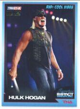"HULK HOGAN ""GOLD PARALLEL CARD #45 /5"" TNA SIGNATURE IMPACT"