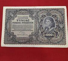 1000 marcos polonia 23 de septiembre de 1919