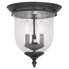 Livex Lighting Legacy Black Ceiling Mount W/ 3 Light 40w