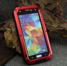 Gorilla Shockproof Aluminium Alloy Red Metal Case Samsung Galaxy S5 UK SELLLER