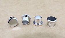 Noise Stopper Rhodium Plated Copper RCA Plugs Caps jacks 10 PCS