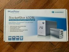 HighPoint RocketStor 6328L Dual Mini-SAS 6GBs to Thunderbolt 2 20Gb SATA Adapter