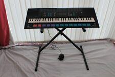 More details for yamaha pss780 music station keyboard synthesizer 61 keys midi 680 vintage & stan