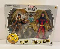 Hasbro Marvel Legends Storm & Thunderbird Target Exclusive 2 Pack Figure