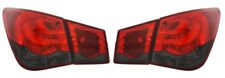 For Chevrolet Cruze 2009+ red Smoke LED back rear tail lights