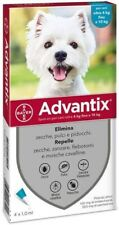 ADVANTIX Bayer spot-on PER CANI 4/10 KG - 4 FIALETTE ANTIPULCI