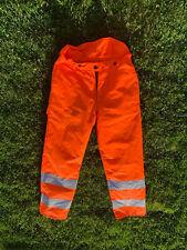 More details for francital chainsaw trousers hi viz orange - rail spec