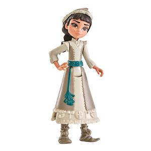 DIsney Frozen 2 II Honeymaren Doll Figure Wearing White Dress From Movie