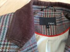 NEXT Womens Tweed Wool Fitted Jacket Size 12