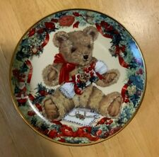 """Franklin Mint """"Teddy's First Christmas"""" Limited Edition plate Exc. Condition!"""