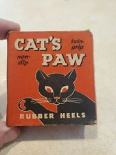 Vintage New Cat's Paws Heels Brown Size J.W. 5