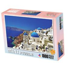 Aegean Sea 1000 Piece Jigsaw Puzzles Santorini Picture Landscape Adults Kids Toy