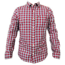 NWT Abercrombie & Fitch by Hollister Men's SHIRT PLAID CHECK TOP SHIRT Sz M