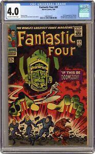 Fantastic Four #49 CGC 4.0 1966 1482262021