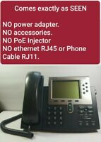 Cisco | 7962 | Unified IP VoIP Phone | Office Business Phone | Headset, Stand