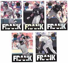 Lot of 5 1993 Leaf Frank Thomas Inserts