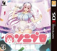 USED Nintendo 3DS SONIPRO Super Sonico in Production 30065 JAPAN IMPORT