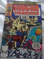 SHOGUN WARRIORS COMIC - VOL. 1, NO. 14 MARCH 1980 ISSUE - MARVEL COMICS