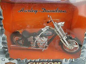 Harley Davidson 1:17 Scale Die Cast NIGHTFIRE METAL MAXX 2001 Spin Master Toys