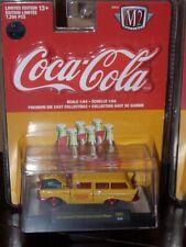 M2 Machines Coca-Cola YR01 1957 Chevy 150 Handyman Station Wagon Chase 1/750
