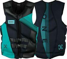 Ronix One Life Jacket Size XXL Capella 2.0 CGA Black & MINT Vest 184017