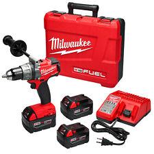 Milwaukee 2703-22 M18 FUEL 18-Volt 1/2-Inch 2,000-Rpm Drill/Driver Kit