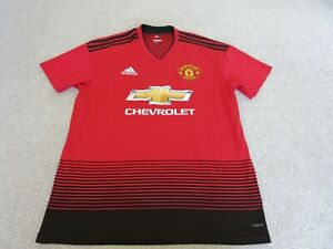 MANCHESTER UNITED SHIRT SIZE L HOME