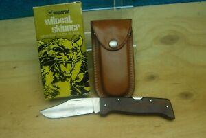 Vintage Wildcat Skinner Imperial Folding Knife NO.WS-1 Saf-T-Lok Blade w/Box