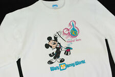 Vintage 90s Walt Disney World Crewneck Sweatshirt Mickey Mouse Oversize Usa
