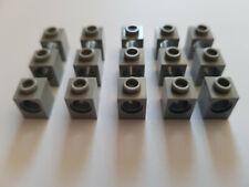 LEGO® 15 x 6541 Technik Loch Stein 1 x 1 hellgrau 4211535 (V78)