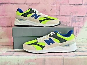 New Balance X-90 Men's Trainers Shoes in colour Lime/Grey size UK 11/ EUR 45,5