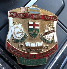 1962 Kitchener BRIER McDonald Tankard CURLING Championships PIN
