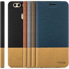 Hülle Huawei u. Honor Handy Tasche Schutz Hülle Flip Case Cover Schale Etui