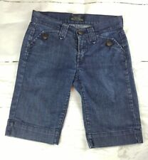 JAMES JEANS Cured by Seun, Dry Aged Denim Women's Jean Shorts sz 24 (00)