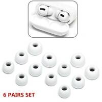 Replacement Memory Foam Ear Tips Buds For Apple Airpods 3Pro Headphones White