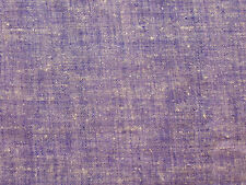 "Hand Spun & Hand Woven Silk. Khadi Fabric Purple 50"" Wide"