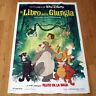 IL LIBRO DELLA GIUNGLA poster manifesto The Jungle Book Walt Disney Mowgli Baloo