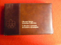1976 MONTREAL OLYMPICS STAMP SOUVENIR COLLECTION IN BOOK
