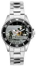 Apollo Mondlandung Raumfahrt Geschenk Fan Artikel Zubehör Fanartikel Uhr 20015